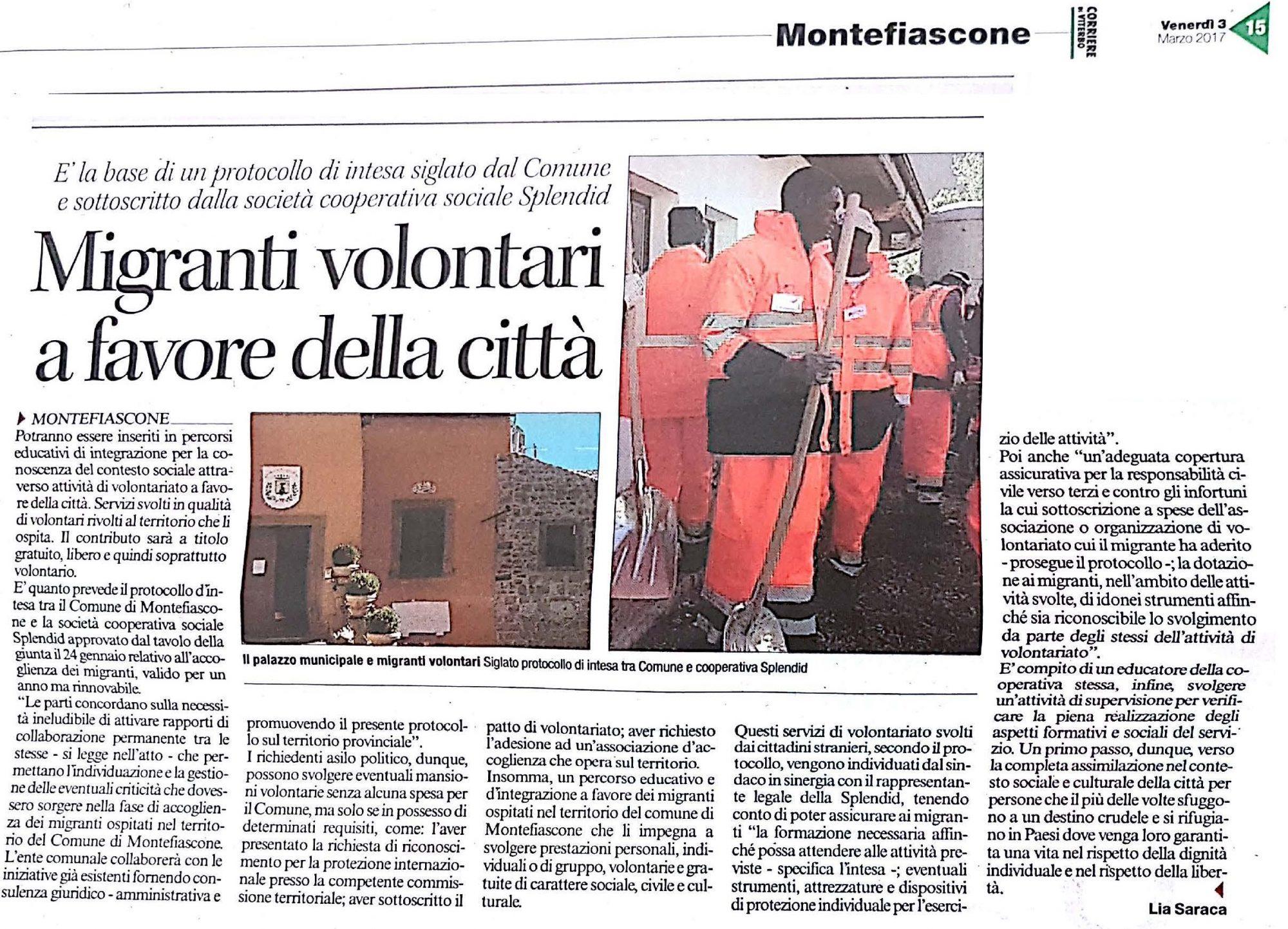 Corriere VT 03.03.2017